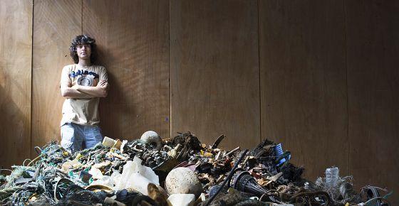 Boyan Slat, autor do projeto 'a limpeza dos oceanos'.