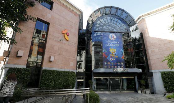 Sede da empresa Torneios e Competições, de Alejandro Burzaco.