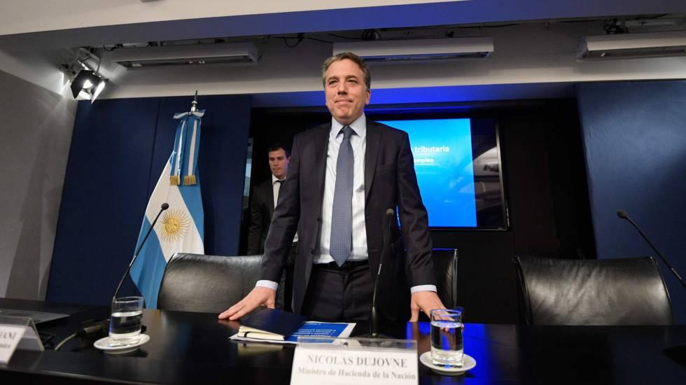 Nicolás Dujovne, ministro da Fazenda da Argentina