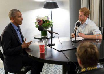 """Ex-presidente dos EUA apelou aos líderes internacionais para fazer da Internet """"um espaço comum"""", em uma entrevista ao príncipe Harry para a rádio BBC"""