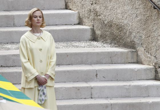 Nicole Kidman interpretando Grace Kelly.