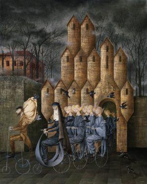 'Hacia la Torre', de Remedios Varo.