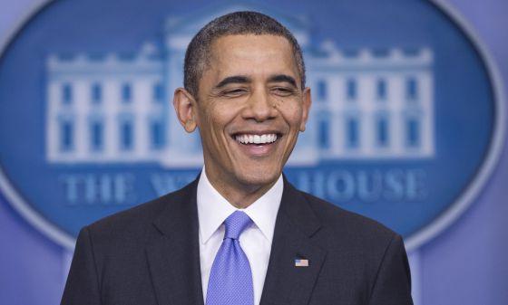 Barack Obama, durante a coletiva de imprensa.