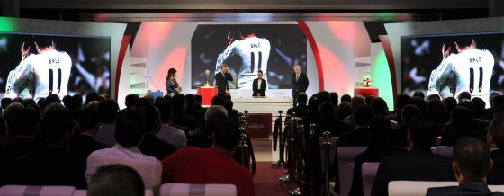 Sorteio das chaves do Mundial de Clubes, no dia 11, em Marrakesh.