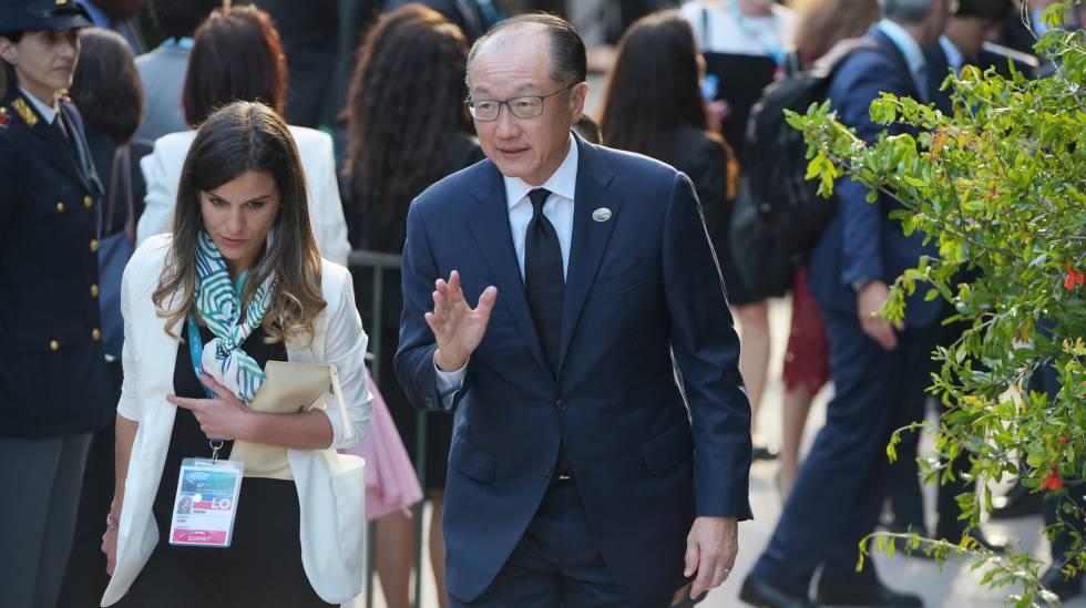O presidente do Banco Mundial, Jim Yong Kim