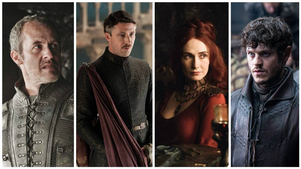 Stannis Baratheon, Petyr Baelysh, Melisandre e Ramsay Bolton derramam sadismo por todas as partes.