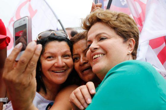 Dilma Rousseff, nesta terça-feira.