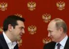 Segundo Alexis Tsipras, resposta russa às sanções prejudica a economia grega. Putin garante que ele não pediu ajuda financeira