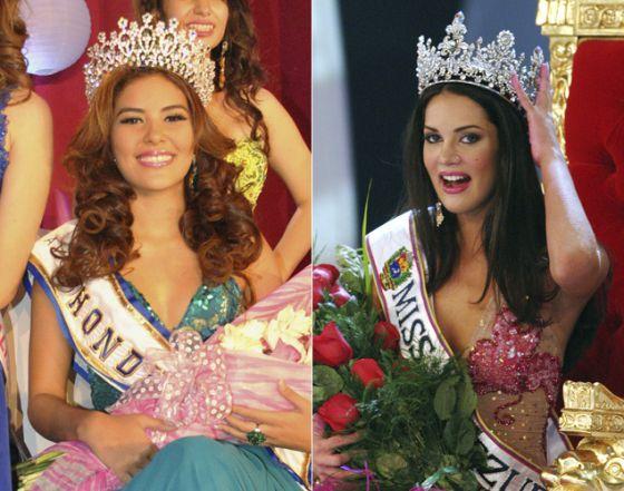 Miss Honduras e Miss Venezuela, ambas com um trágico desfecho