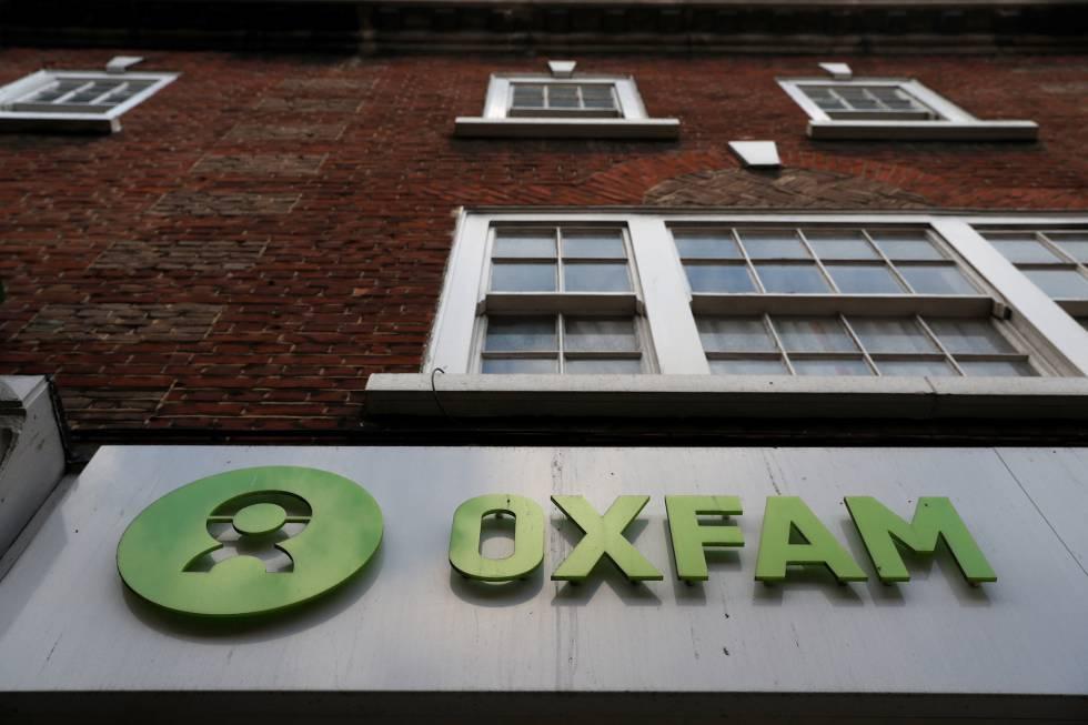 Uma sede da Oxfam em Londres.