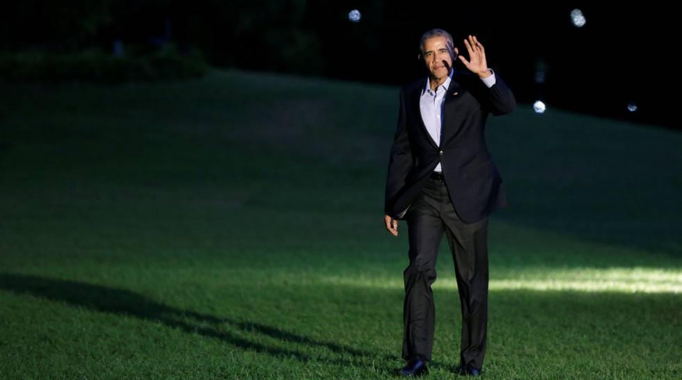 Barack Obama, nesta semana em Washington.