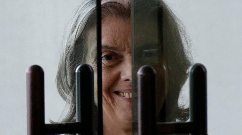 A ministra Cármen Lúcia, no STF.