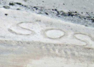 Os dois náufragos estavam perdidos na Micronésia havia uma semana