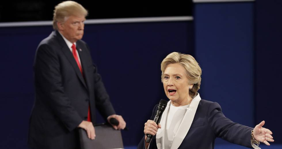 Donald Trum e Hillary Clinton