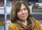 Escritora retratou o drama de grande parte da população da antiga URSS, assim como de Chernobil e a guerra do Afeganistão