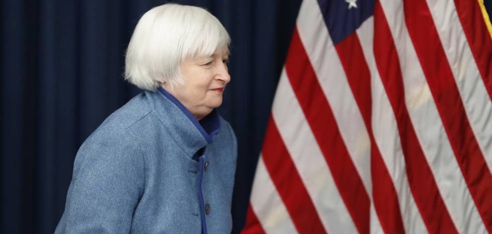 Janet Yellen, presidenta do Federal Reserve.