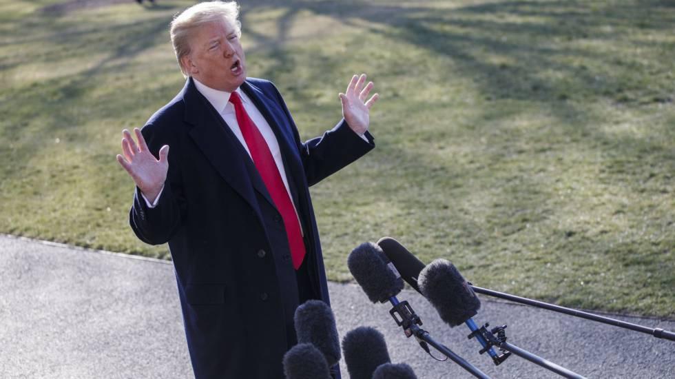 Trump comenta a demissão de Rex Tillerson