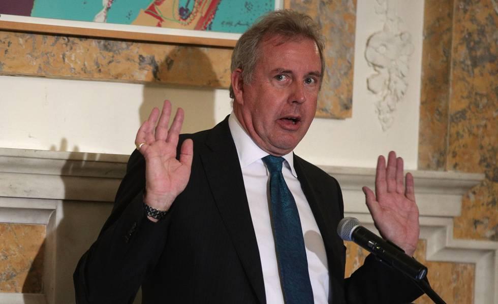 O ex-embaixador do Reino Unido Kim Darroch