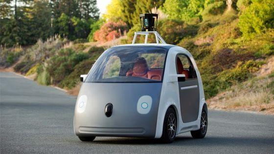 O protótipo do carro do Google.