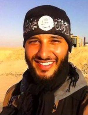 Foto de Foued Mohamed-Aggad, publicada por ele em sua conta do Facebook em 2014, em um local não identificado.