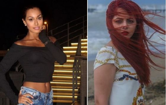 As atrizes Sadaf Taherian e Chakameh Chamanmah.