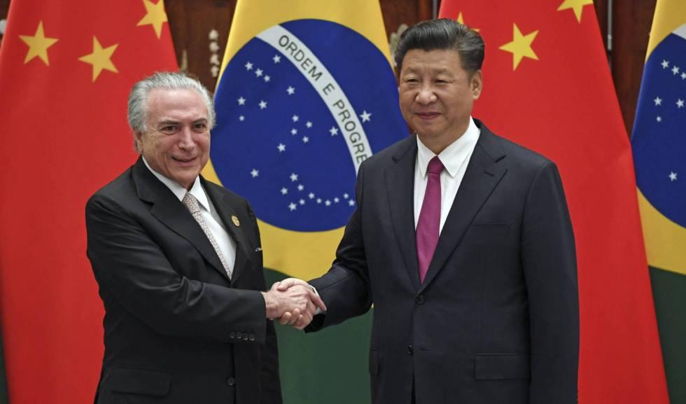 Os presidentes do Brasil e da China, Michel Temer e Xi Jinping, em Hangzhou