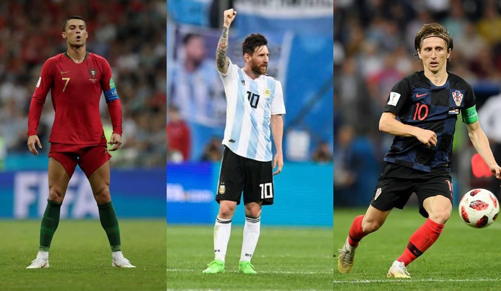 Cristiano Ronaldo, Messi e Modric são três craques que estiveram na Rússia e lidam com acusações do fisco espanhol.