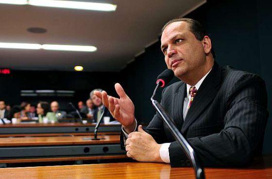 O deputado Ricardo Barros, na Câmara.