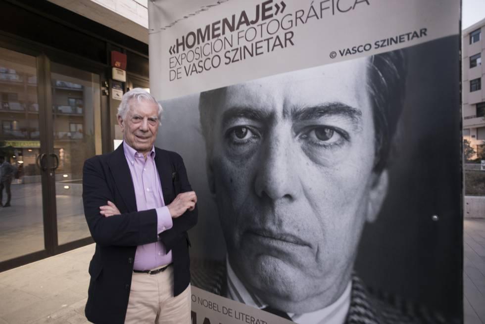 Mario Vargas Llosa, na última terça-feira na ilha da Palma.