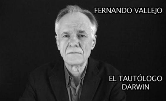 Fernando Vallejo, em um dos vídeos.