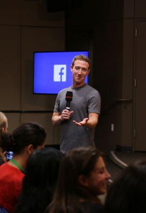 Mark Zuckerberg, fundador do Facebook, em uma aparição no mês passado.