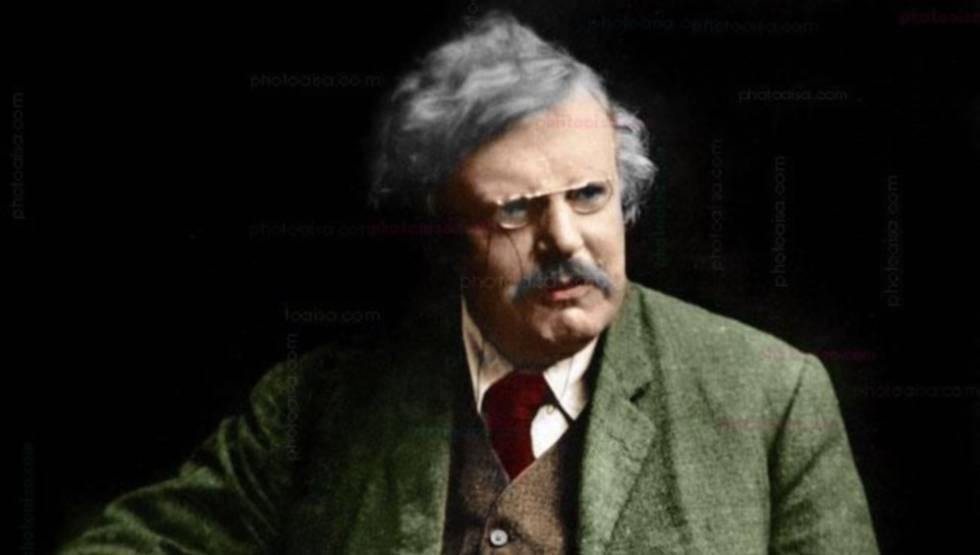 G. K. Chesterton en EL PAÍS