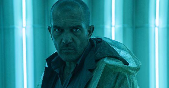 Antonio Banderas em seu novo filme, 'Autômata', do diretor espanhol Gabe Ibáñez.
