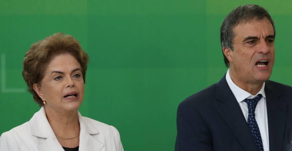 Dilma e Cardozo, da AGU.