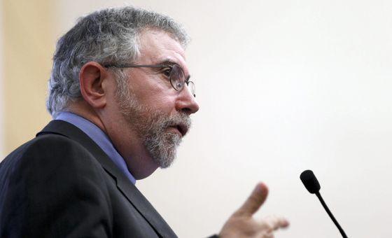 O Prêmio Nobel de Economia Paul Krugman.