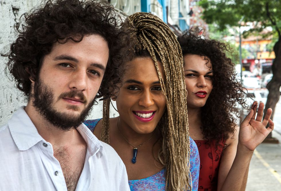 Rafael Acerbi, Raquel Virgínia e Assucena Assucena.