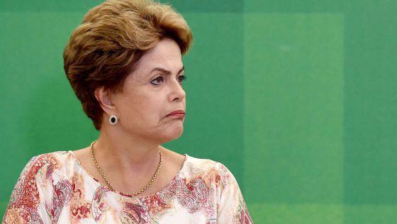 Dilma Rousseff em cerimônia neste dia 22 de outubro.