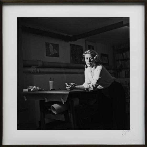 A escritora, em 1954.