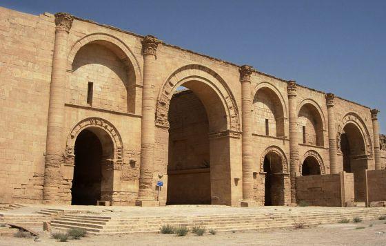 A cidade do Império Parta de Hatra, em 2005.