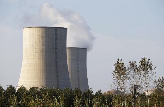 A central nuclear de Golfech, no sudoeste da França, que foi sobrevoada por drones não identificados.