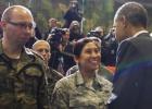 Os EUA prometem ampliar o compromisso militar com o flanco oriental da OTAN depois da crise da Ucrânia, com um gasto adicional de um bilhão de dólares