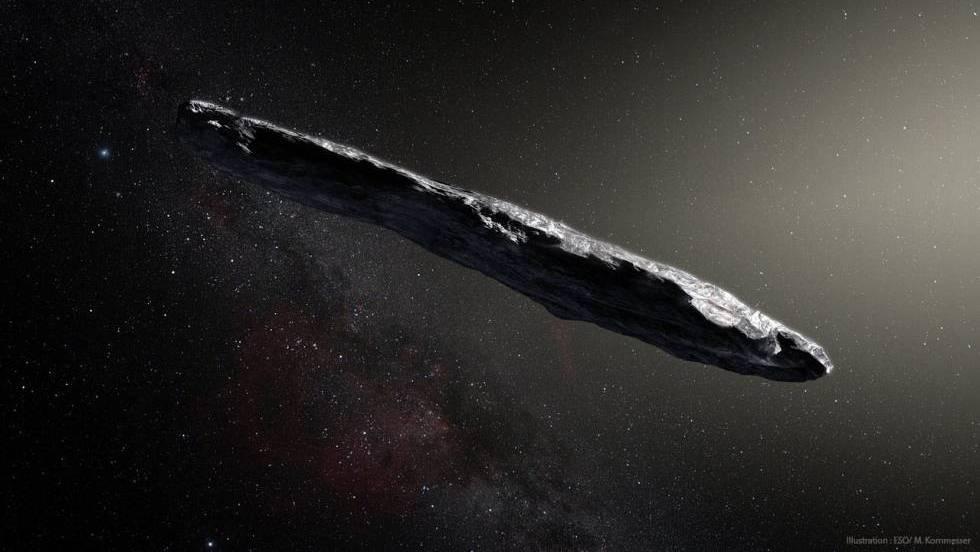 A forma do asteroide deu local a especulações sobre seu caráter artificial