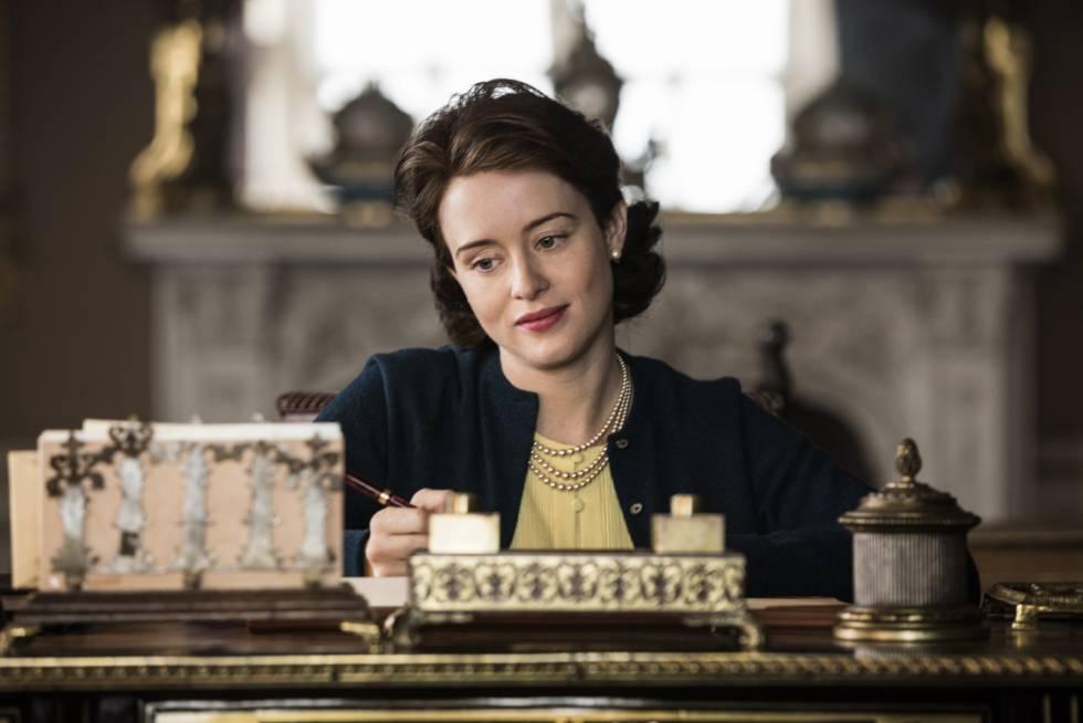 Claire Foy, em 'The Crown'.
