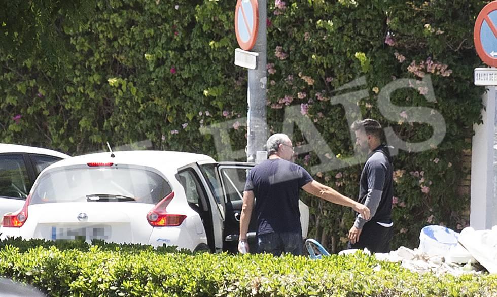 Detenção do ex-guarda civil Antonio Manuel Guerrero Escudero.