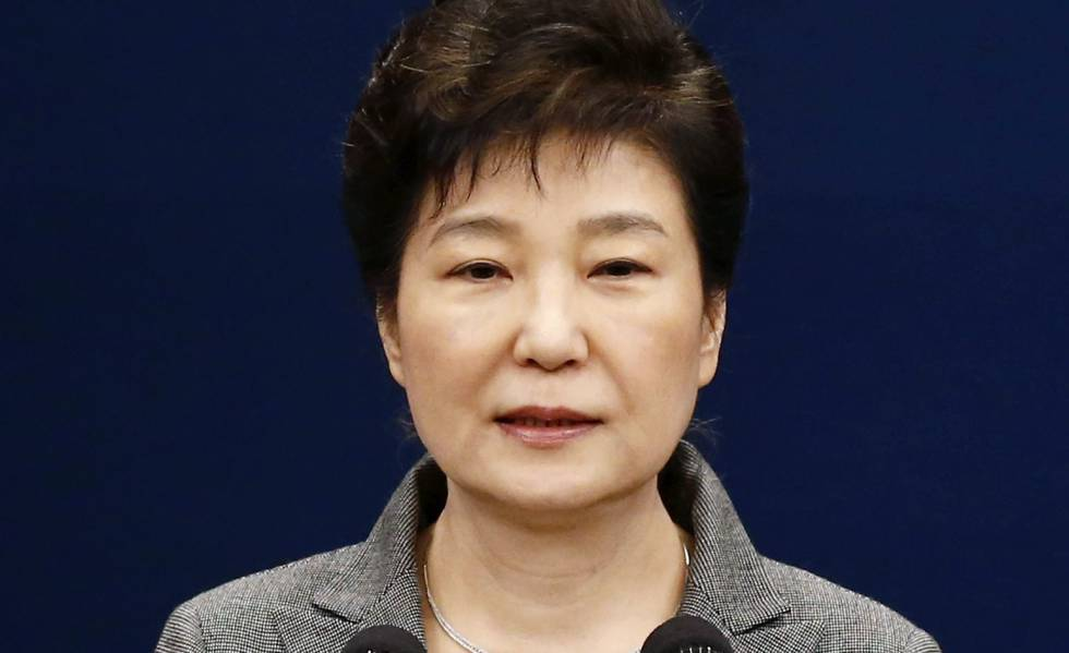 Park Geun-Hye, durante seu discurso para a nação em 29 de novembro de 2016.