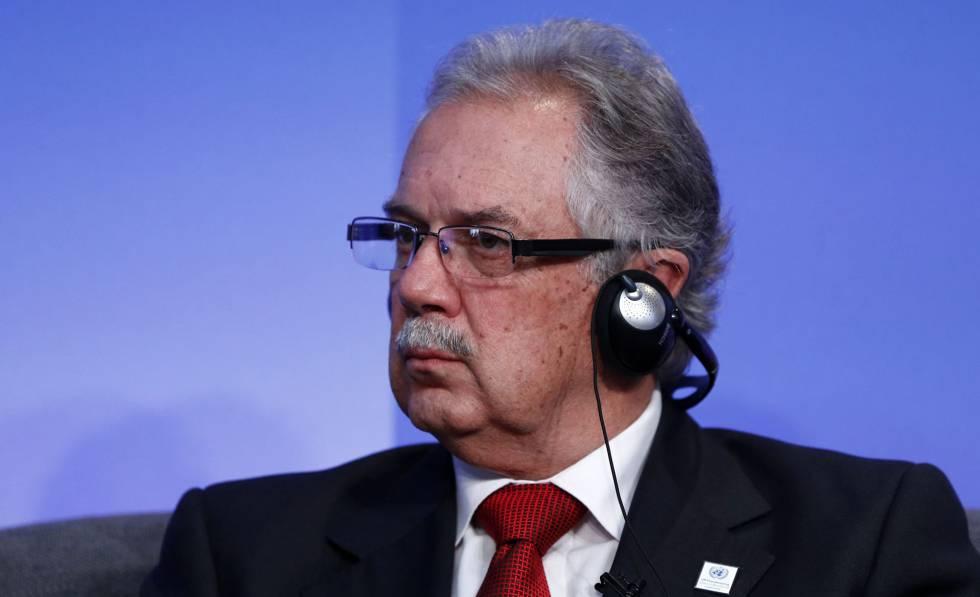 O ministro da Defesa do Uruguai, Jorge Menéndez, em setembro de 2016.
