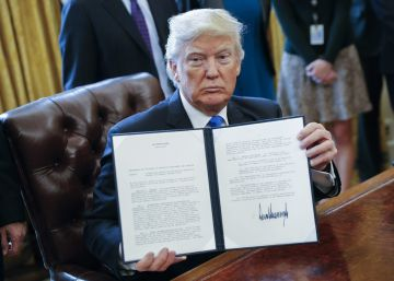 O presidente firmará medidas que vetam temporariamente a entrada de refugiados