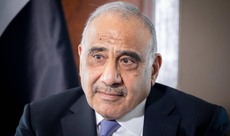 O primeiro-ministro do Iraque, Adel Abdul Mahdi, em abril.