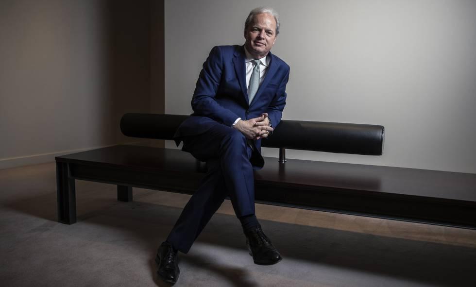 Axel von Trotsenburg, diretor de Operações do Banco Mundial, em entrevista ao EL PAÍS em Madri.