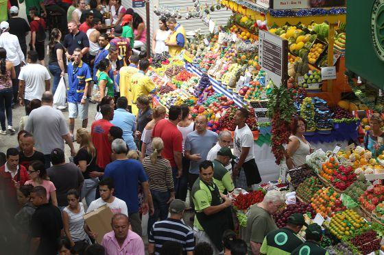 Mercado Municipal de São Paulo.